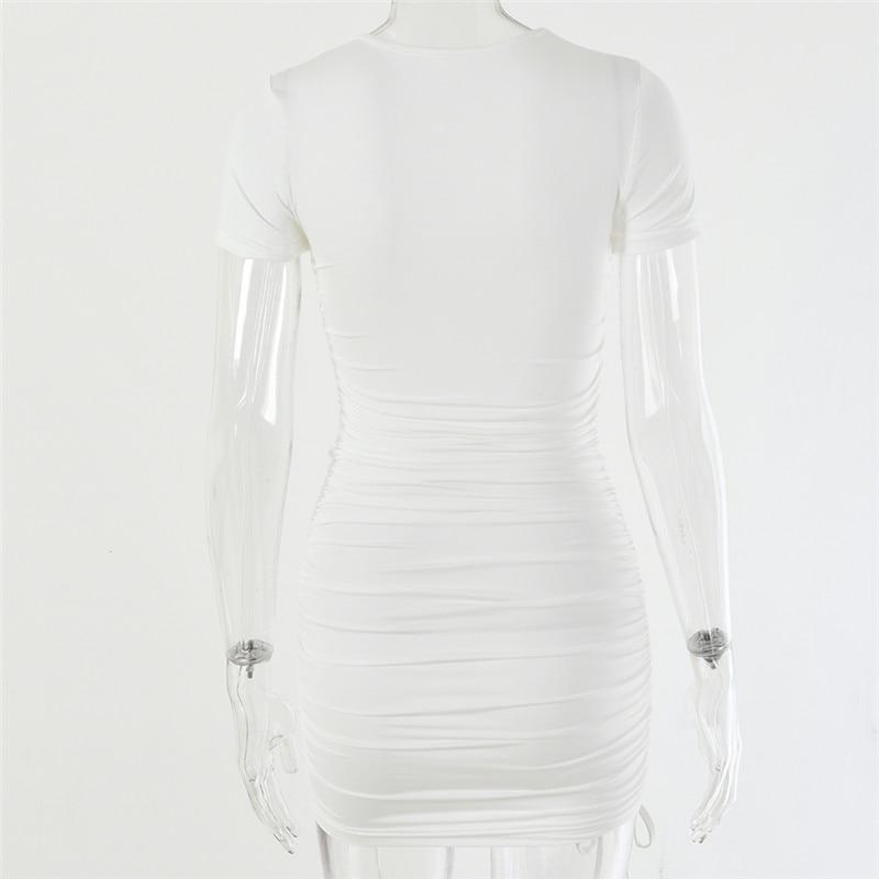 cordão, mini vestido de festa, básico, skinny, curto, feminino
