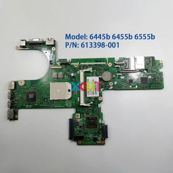 for HP ProBook 6445b 6455b 6555b 613398-001 6050A2356601-MB-A02 NoteBook PC Laptop Motherboard Mainboard Mainboard