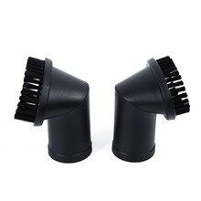 2 pçs 35mm aspirador de pó redondo escova de cerdas cabeça da escova kit para lake cleaner peças reposição aparelho doméstico