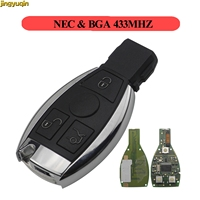 Jingyuqin Smart Key for Mercedes Benz Support NEC And BGA 2000+ Year Auto Remote Key Car Accessories 3 Buttons 433MHz|Car Key| |  -