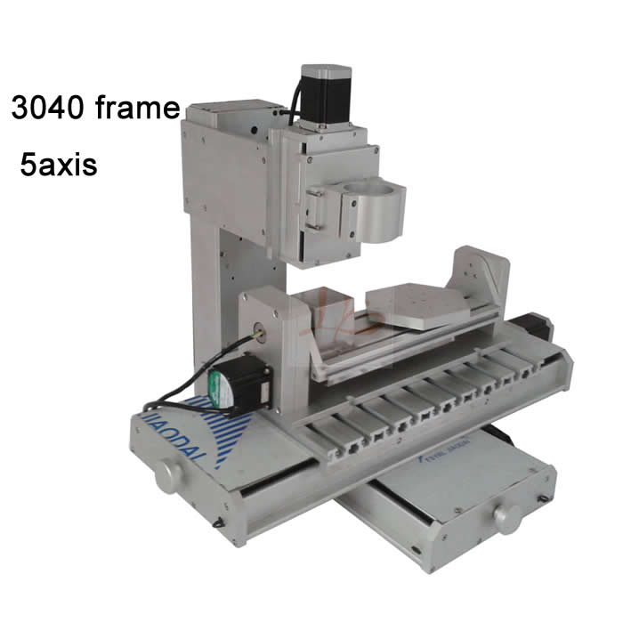 Best quality 3040 five axis cnc machine frame column ball screw industrial 5 axis pillar type engraving router|router 5|router industrial|router engraver - title=