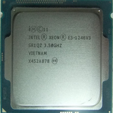 CPU Processor Intel Xeon 1246v3 Lga 1150 Quad-Core E3 Eight-Thread 84W