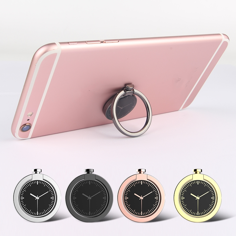 Ossky Pocket Watch Phone Finger Ring Holder For Phone 360 Free Rotation180 Degree Fold Magnetic Car Phone Ring Holder Bracket