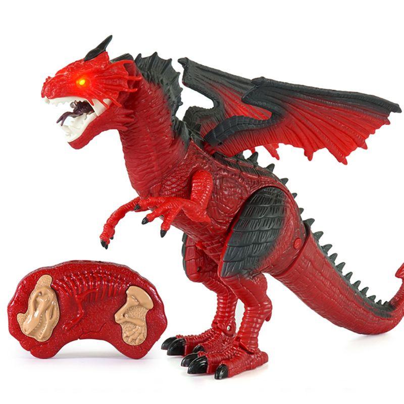 brinquedo de dinossauro presentes de brinquedo de controle remoto brinquedo de dinossauro com caminhada simulado rugido