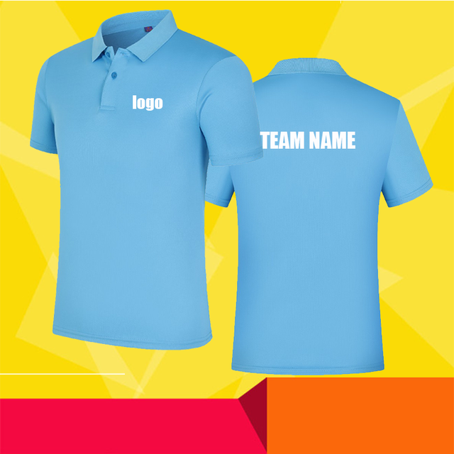 High-end customization POLO shirt custom work POLO short sleeve team high quality quick-drying shirt Adult and children sizes 3