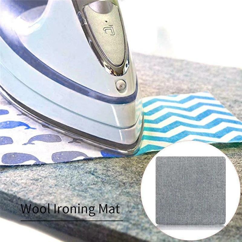 12X18'' Ironing Felt Pad Easy Press Ironing Mat New Zealand Wool Pressing Mat