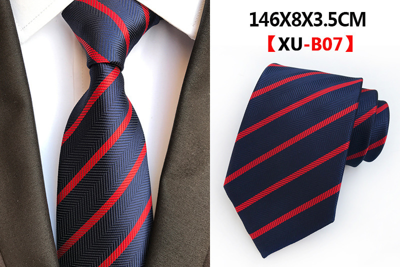 Mens Bow Tie Black Necktie Wedding Party Stripe Ties Dacron Silk Fashion Mens Gifts Clothing Accessories Jacquard Classic Style