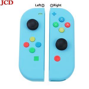 Image 4 - Сменная Крышка корпуса JCD для Nintendo for Switch for Joy Con Controller с отверткой, джойстиком и клавишной кнопкой