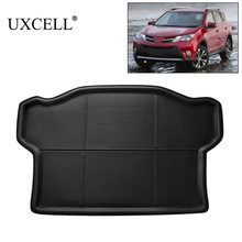 UXCELL Random send Rear Trunk Tray Boot Liner Cargo Floor Mat Cover Protector Carpet For Toyota RAV4 2009 TO 2016 and 2001-2005(China)