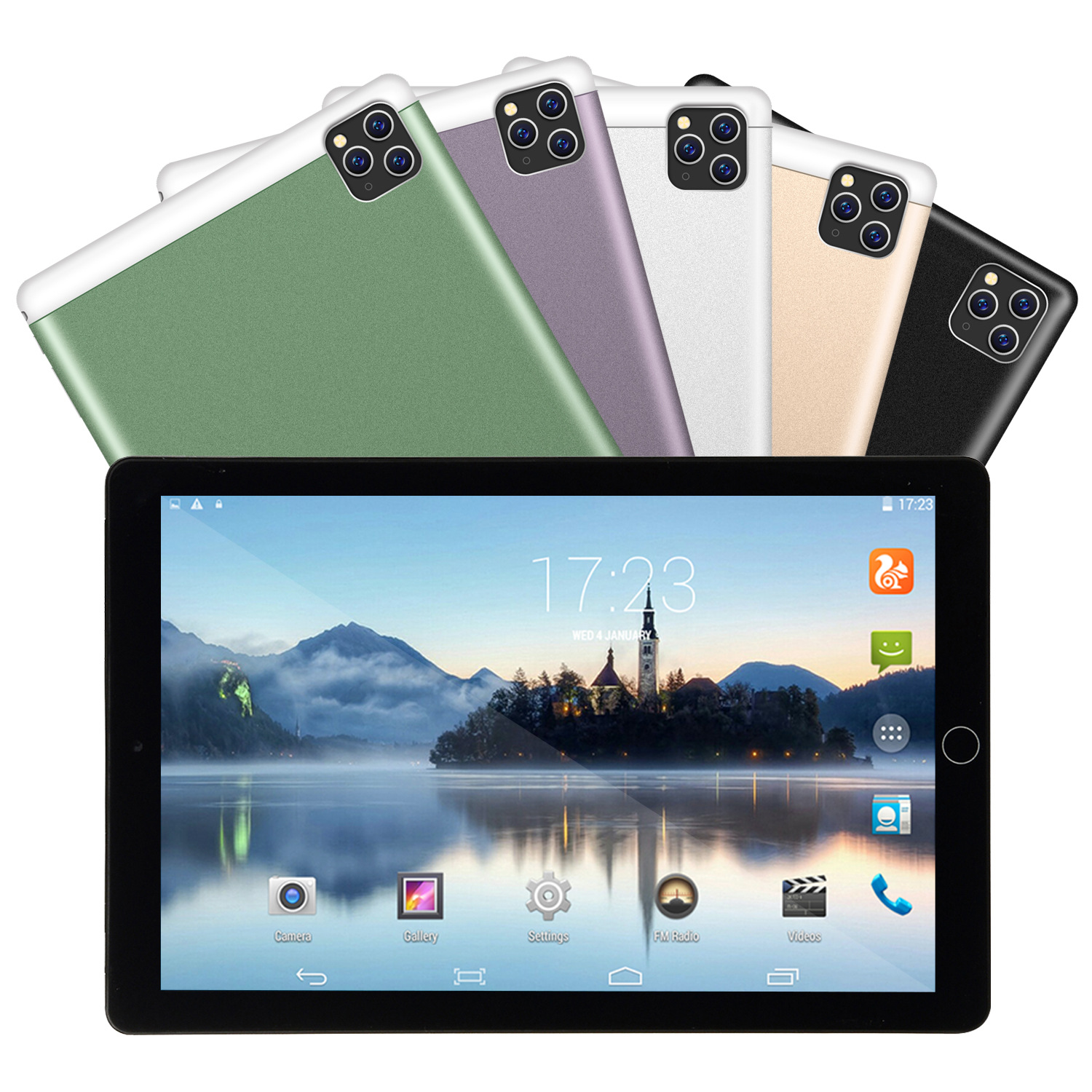 2020 New Fashion Tablet 10 Inch 6G+128GB Android Tablet  Android 8.1  Support 4G Dual Card Phone Call 1280*800  Android Tablet