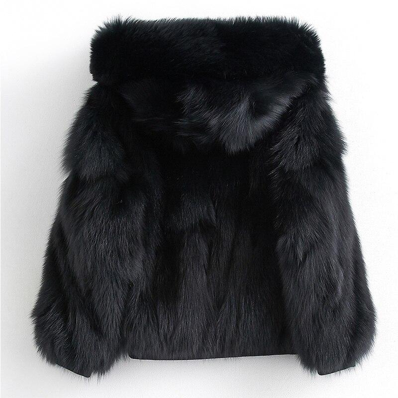 Real Fox Coat Female Winter Jacket Women Clothes 2020 Natural Luxury Fur Jackets Korean Warm Overcoat MY3842