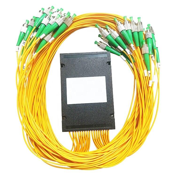 FC/ APC Fiber Optic PLC Splitter 1x64 PLC Splitter Optical Coupler Fiber Optical PLC Splitter modules With Box type