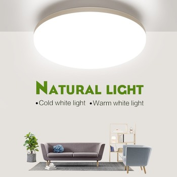 LED ceiling lights for room 18W 24W 36W 48W Cold Warm White Natural light LED fixtures ceiling lamps for living room lighting 1