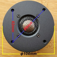 pair MeloDavid  CB25 copper&Beryllium alloy dome tweeter . KO XT25 D25 D2095 9300