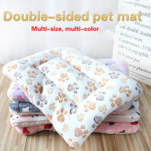 Pet Dog Mats Dog Beds,Thick Blankets for Pets In Winter,cartoon Kennels for Pets,Warm Sleeping Mats for Dogs with Cotton Quilts