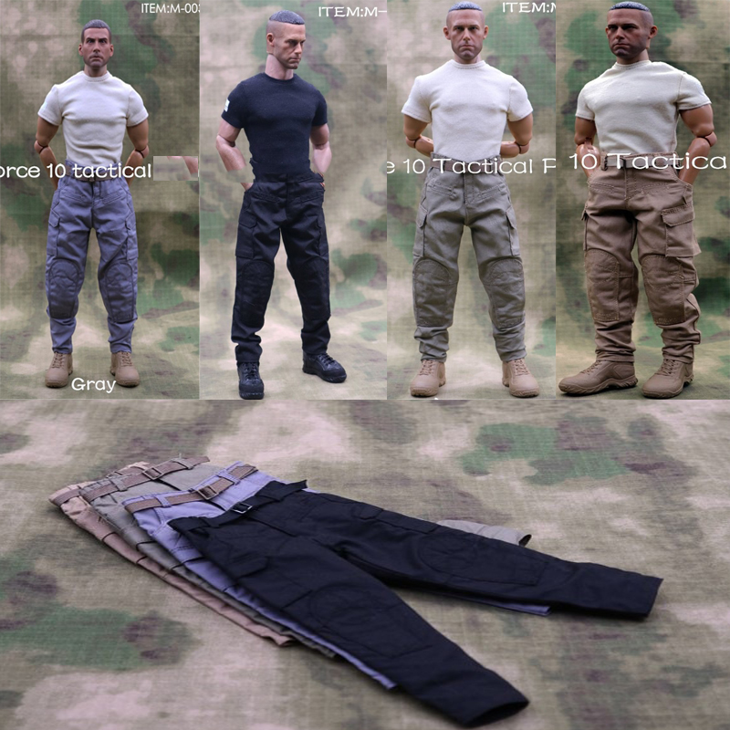 In Stock M-003 1/6 Scale male soldiers pants Men