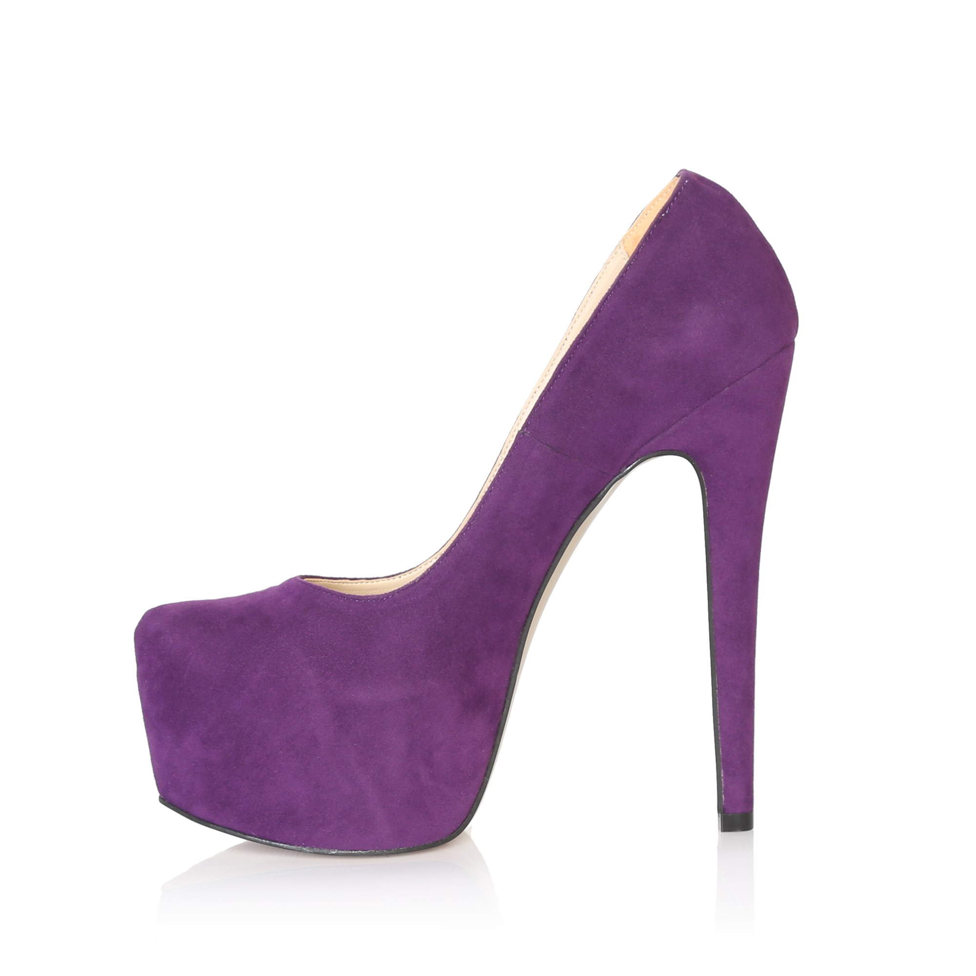 Mst-029 Purple Suede 2020 New Summer Sexy Women High Heels 15 Cm Fashion Stripper Shoes Party Shoes 35-40