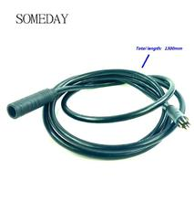 1.2squar/ 1.5 squar Electric bicycle motor extension waterproof cable 1300MM for 9 pin joint e-bike conversion kit 9pin epi ball joint kit king pin we351004