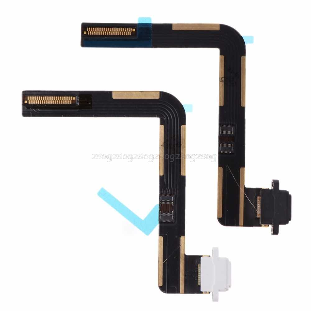 Datos Flex cable de carga cargador Puerto Dock USB conector reemplazo para Apple iPad 5 Air A1474 A1475 F18 19 dropship