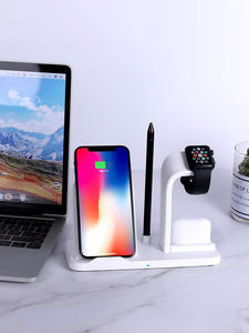 Wireless-Charger Charging-Station Airpods Pro iPhone 11 Ce for 3-In-1/qi-Certified Compatible