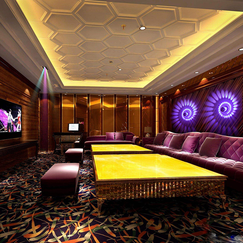 Cylindrical 3W 85-265V LED Wall Light Living Room Bar Bedroom KTV LED Spiral Wall Light Kitchen Cafe  LED Wall Light 6