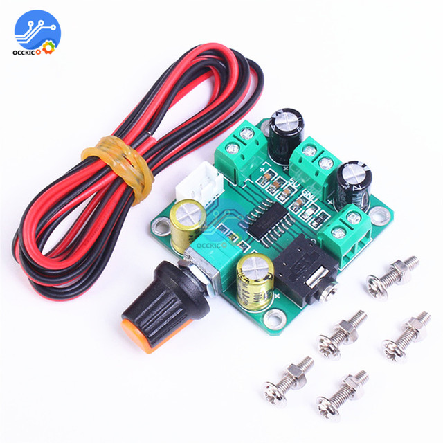 1 adet PAM8403 ses amplifikatörü devre kartı modülü 2*3W DC 5V dijital amplifikatör kurulu Stereo çift parça verimli