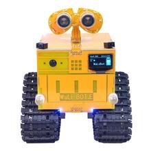 WuliBot скретч+ Mixly программируемый робот RC программируемый трек автомобиль паровой Обучающие программируемые игрушки с/без камеры