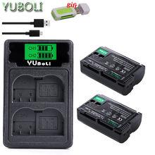 EN-EL15 En EL15 EN-EL15a ENEL15a En EL15a Batterij + Usb Dual Charger Voor Nikon D850 D810 D810A D750 D500 D7500 d7200 D7100