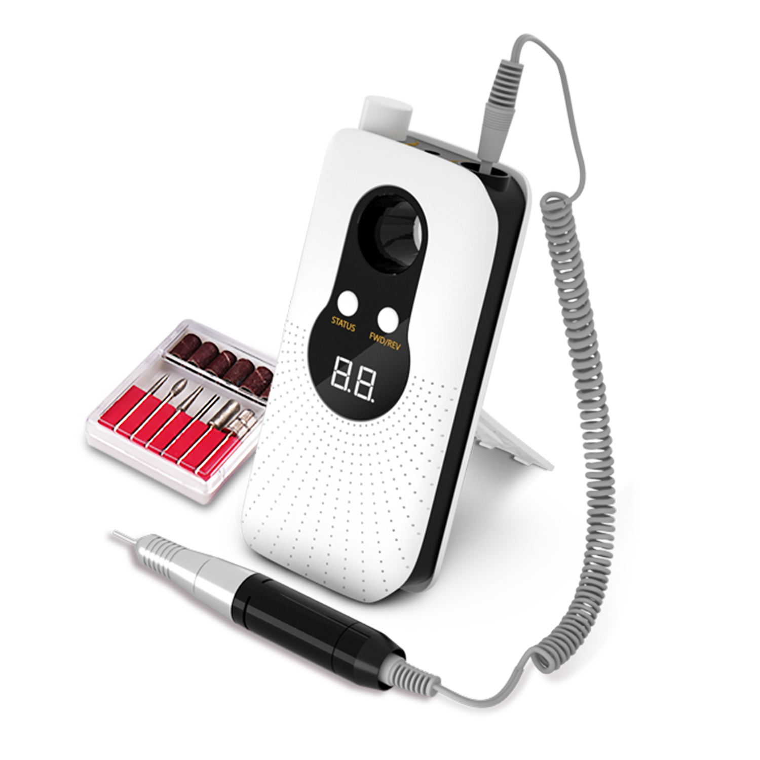 RPM35000 Professional Rechargeable Portable Nail Drill Acrylic Nail Machine Electric Nail File For Acrylic
