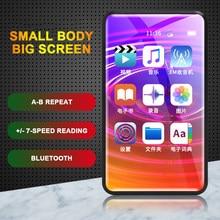 2.4 polegada bluetooth tela sensível ao toque completa mp3 player de vídeo música lossless alta fidelidade reprodução externa mp5