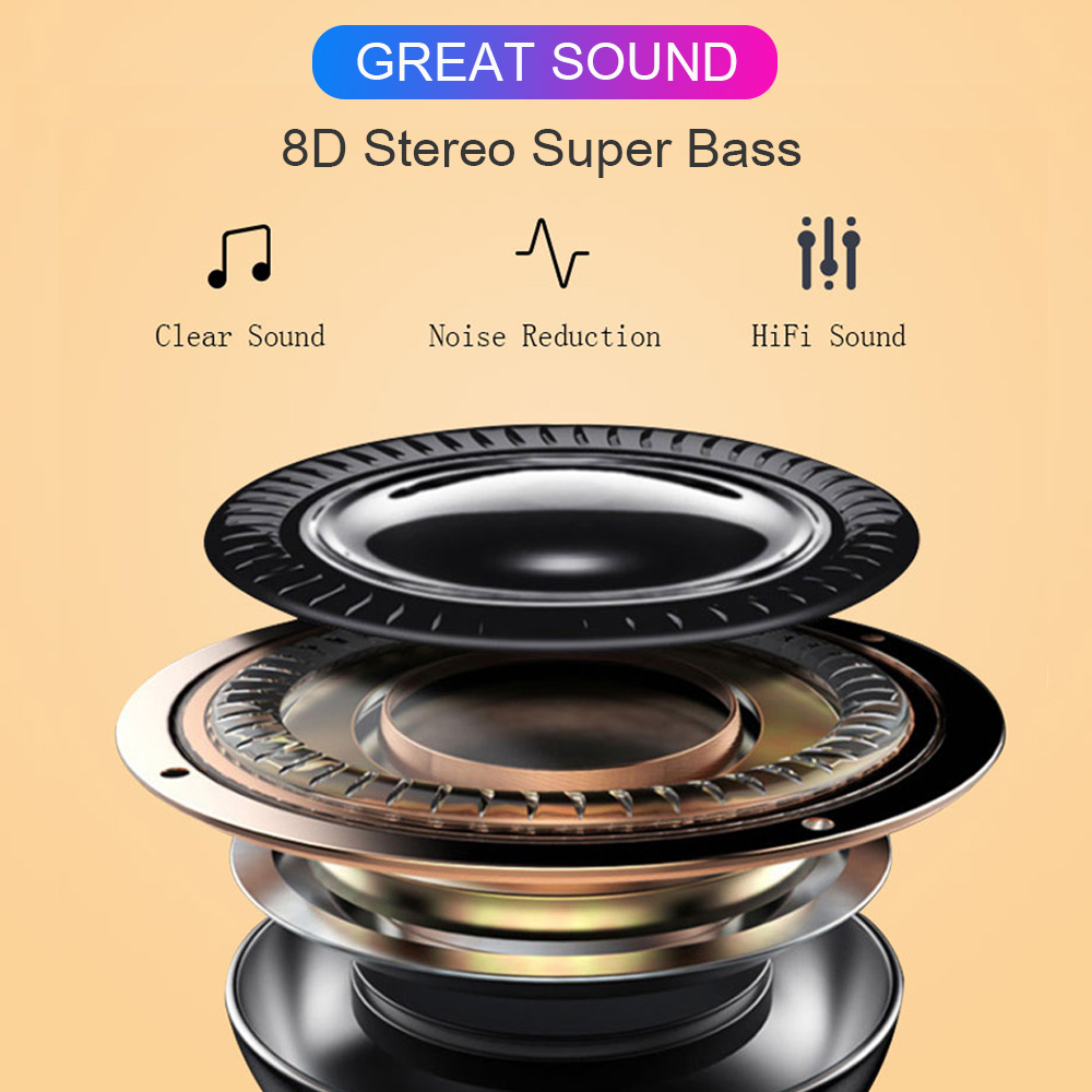 GPS Rename Earbuds i90000 Pro Tws Wireless Headphones 8D Super Bass Wireless Bluetooth Earphone Headset for iphone/Android