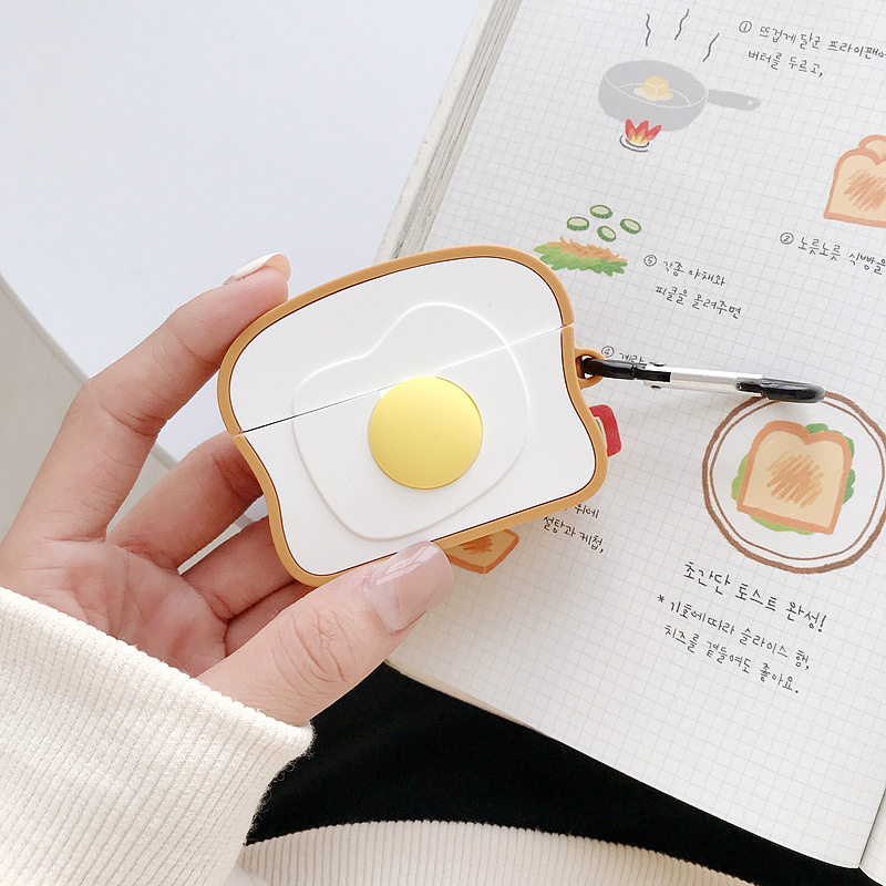 Cute 3D Silicone Case for AirPods Pro 12