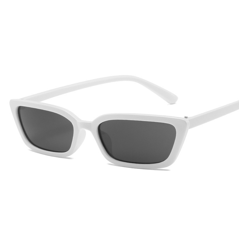 Small Cat Eye Sunglasses Women 2019 Brand Mirror Sunglasses Retro Shades for Women Rectangle Brand Designer Summer Sun Glasses in Women 39 s Sunglasses from Apparel Accessories