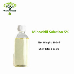 100ml 500ml of 5% minoxidil solution for men hair growth ready to use