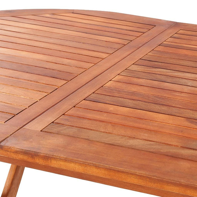 Outdoor Wooden Folding Portable Dining Table  4