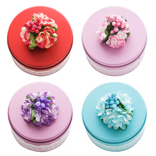 10pcs/pack Wedding Birthday Party Decor Kids Favor Cookie Bag Gift Box Tinplate Candy European Style Boxs New