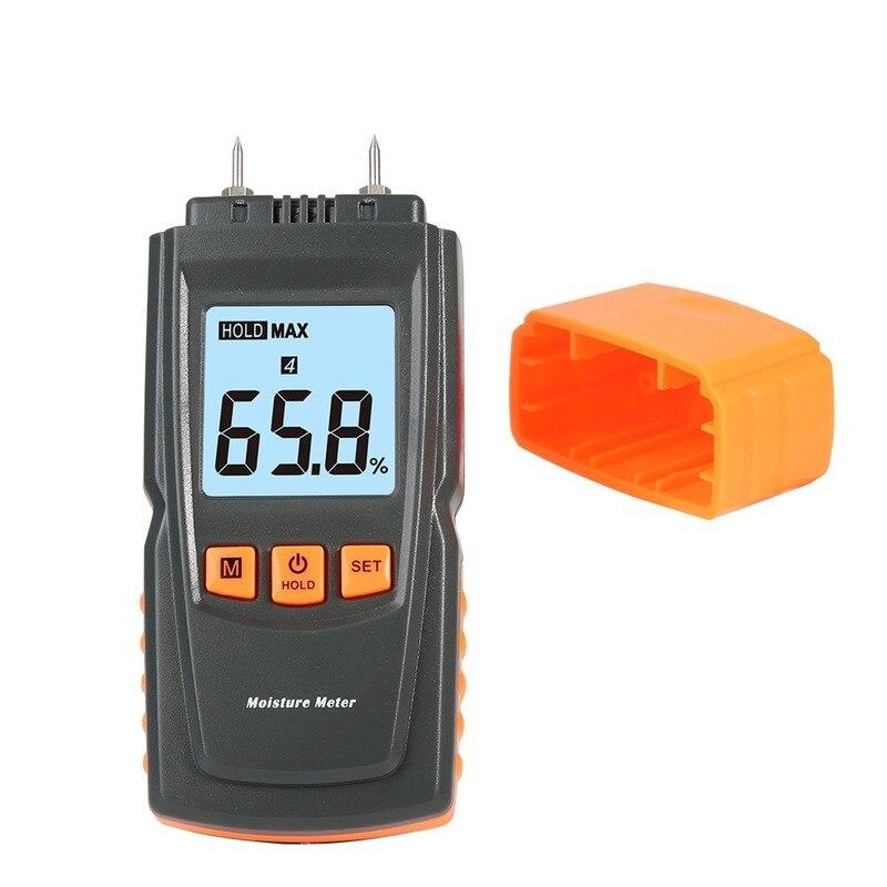 ANPWOO Wood Moisture Tester, Cement Board and Brick Moisture Meter, Digital Display Moisture Counter, Used In Civil Engineering