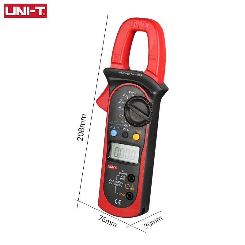 Tools : UNI-T UT203 UT204 UT204A Digital Handheld Clamp Multimeter Tester Meter DMM CE AC DC Volt Amp