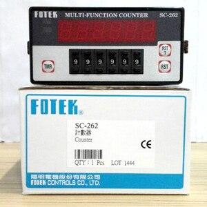 Image 1 - SC 262 FOTEK Đa Chức Năng Đếm 100% Mới & Ban Đầu 90 265VAC