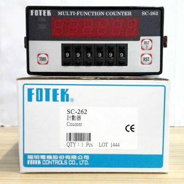 SC 262 FOTEK Đa Chức Năng Đếm 100% Mới & Ban Đầu 90 265VAC
