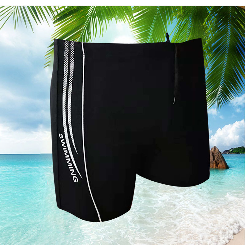 New Style MEN'S Swimming Trunks Adult Swimming Trunks MEN'S Swimsuit Fashion Swimming Trunks Men