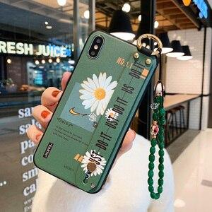 Чехол-держатель для телефона Samsung Galaxy S20 Ultra S8 S9 S10 S20 Plus S10e Note 10 Plus 9 8, чехол на запястье с подвесными бусинами