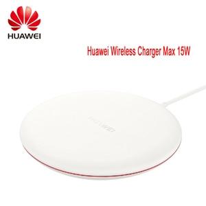 Image 1 - Оригинальное Быстрое беспроводное зарядное устройство HUAWEI CP60 QI Max, 15 Вт, подходит для iphone Xs Max/XR/X/Huawei Mate20 Pro/RS Galaxy S9, быстрое зарядное устройство