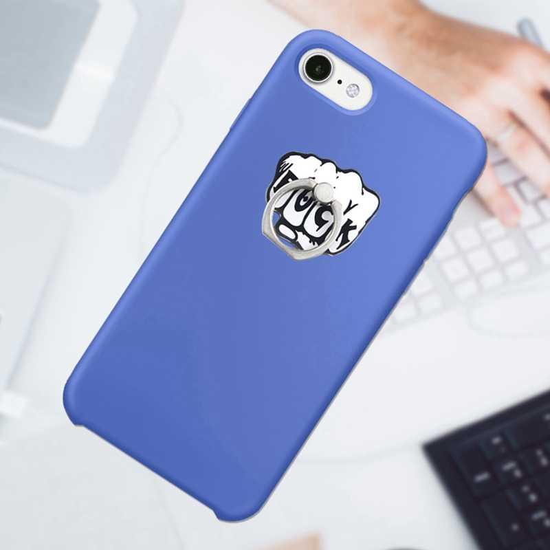 UVR 360 градусов палец кольцо смартфон подставка держатель мобильного телефона Подставка для iPhone акриловый все смартфон