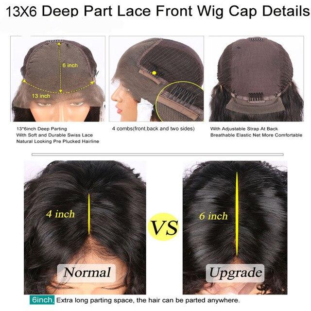 Prawdziwe HD koronkowa peruka 250 gęstości koronki przodu włosów ludzkich peruk brazylijski ciało fala 13x6 koronki przodu peruki skóry Melt przejrzyste koronkowe peruki