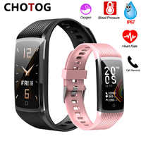 2020 Fitness Bracelet Blood Pressure Fitness Tracker Waterproof Smart Bracelet Heart Rate Smart Band Watch Wristband Men Women