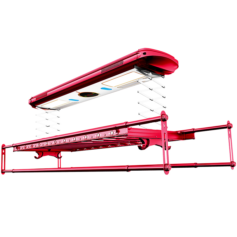 Intelligent Automatic Telescopic Clothes Drying Pole Machine With Multi-function Balcony For Electric Clothes Drying Racklifting