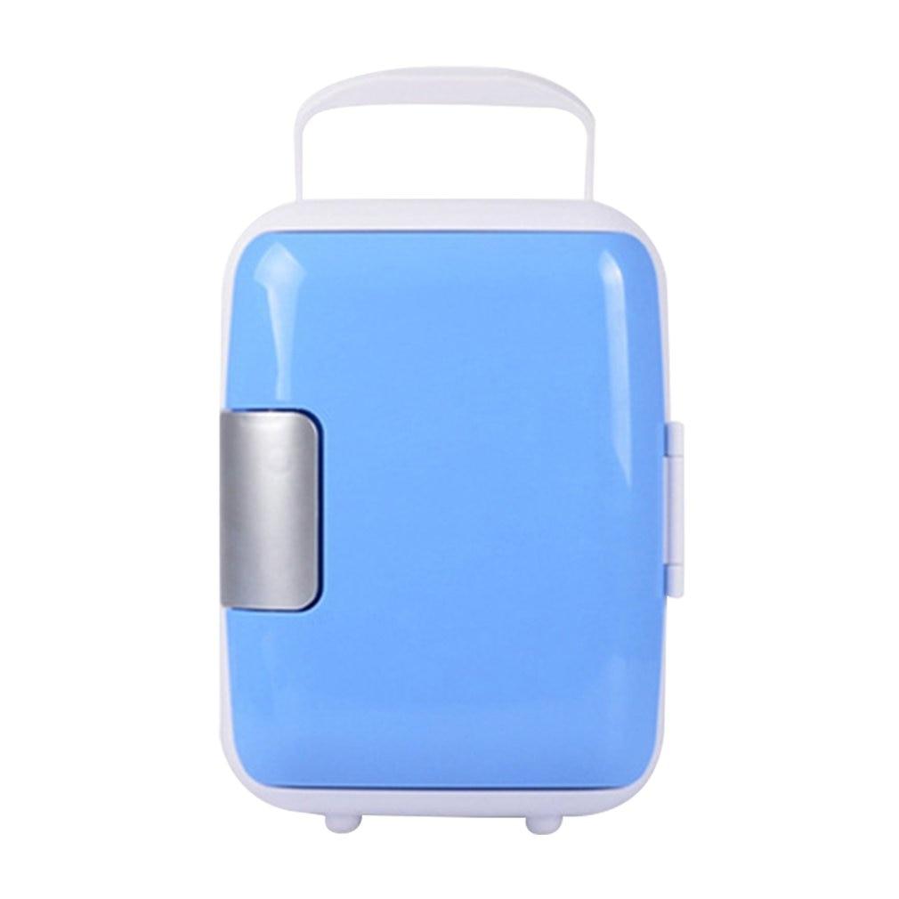 4L Mini Home Car Dual-Use Refrigerators Low Noise Car Fridge Freezer Cold Icebox Thermal Heat Preservation Box