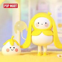 Pop mart bobo coco balão terra brinquedos figura caixa cega figura de ação presente aniversário do miúdo brinquedo frete grátis