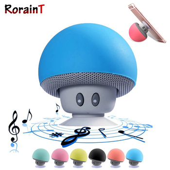 Mini Bluetooth Speaker Mushroom Wireless Bluetooth 5.0 Player Speake MP3 Player with Mic Portable Stereo Blutooth For Phone image